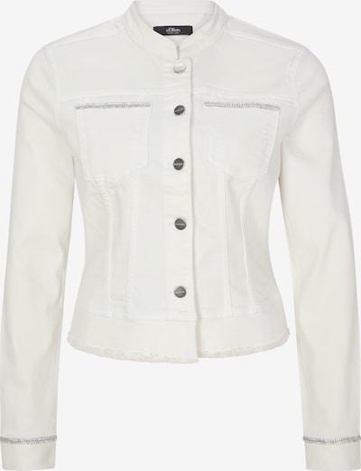 s.Oliver BLACK LABEL Jacke in white denim, Produktansicht