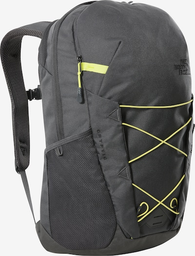 THE NORTH FACE Rucksack 'Cryptic' in gelb / dunkelgrau, Produktansicht