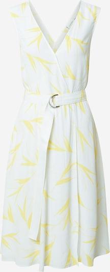 Calvin Klein Kleid in gelb / weiß: Frontalansicht
