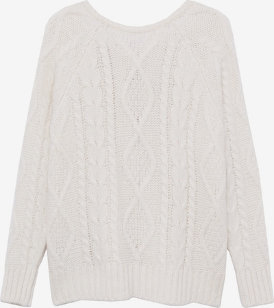MANGO Pullover in nude: Frontalansicht
