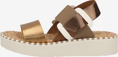 Rapisardi Sandalen in bronze, Produktansicht