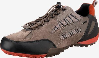 GEOX Sneaker 'Snake' in braun / orange / schwarz, Produktansicht