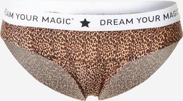 MAGIC Bodyfashion Σλιπ 'Dream Your MAGIC' σε καφέ