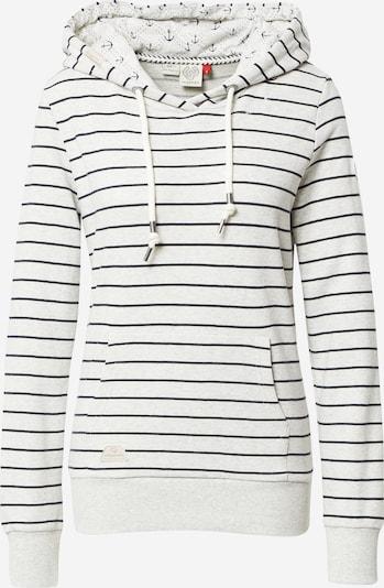 Ragwear Sweatshirt 'BERIT' in schwarz / weiß, Produktansicht