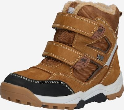 Sniego batai iš LURCHI , spalva - ruda / šviesiai ruda / margai juoda / balta, Prekių apžvalga
