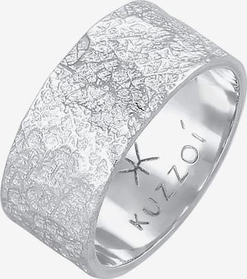KUZZOI Ring in Silber
