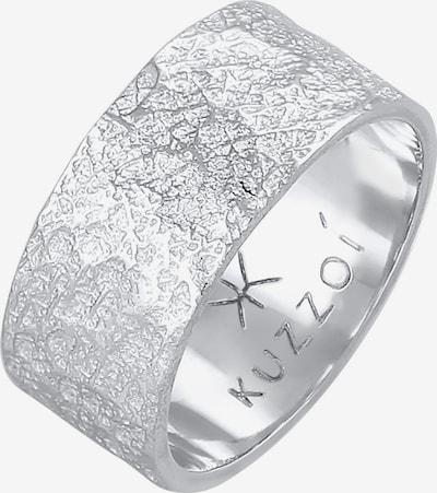 KUZZOI Ring in silber, Produktansicht