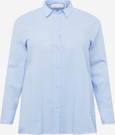 NU-IN Plus Bluse in hellblau, Produktansicht