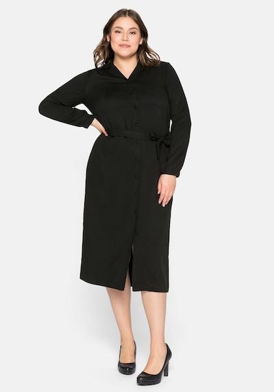 Rochie tip bluză SHEEGO pe negru, Vizualizare model
