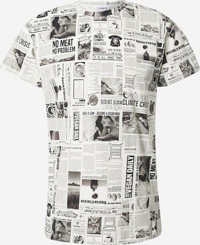 ABOUT YOU x Benny Cristo T-shirt 'Edin' i vit, Produktvy