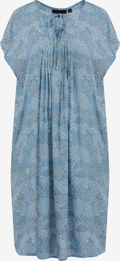 Finn Flare Kurzarm-Kleid in hellblau / schwarz / weiß, Produktansicht