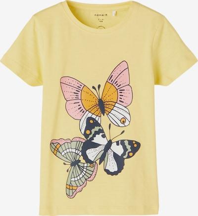 NAME IT Shirt 'Jasmin' in de kleur Geel / Gemengde kleuren, Productweergave