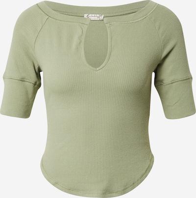 Free People T-Krekls 'BLAKE BABY TEE', krāsa - zaļš, Preces skats