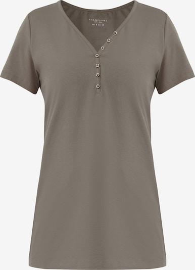 Finn Flare Kurzarmshirt in schlammfarben, Produktansicht