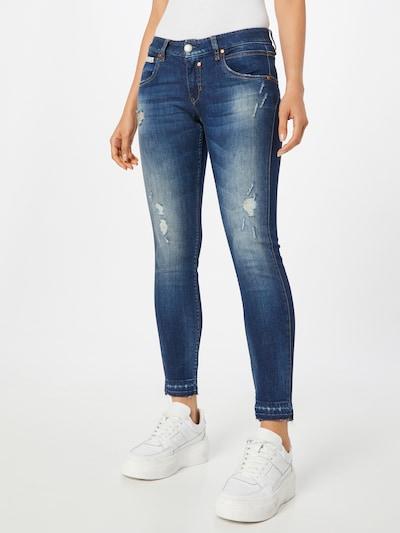 Herrlicher Jeans in de kleur Blauw denim, Modelweergave