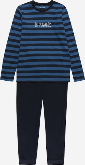 SCHIESSER Pyžamo - modrá / tmavomodrá, Produkt