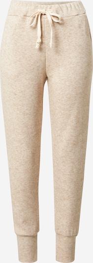 Zwillingsherz Pantalon 'Jelena' en beige chiné, Vue avec produit