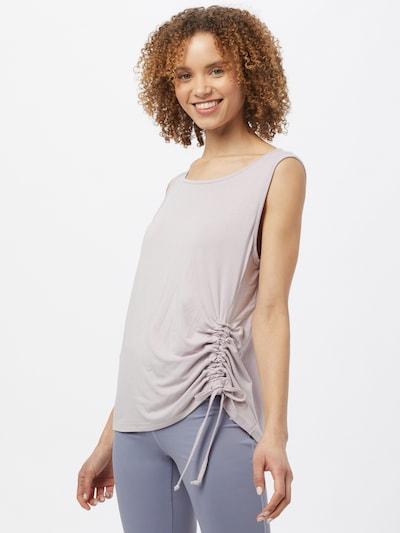 CURARE Yogawear Športový top - pastelovo ružová: Pohľad spredu