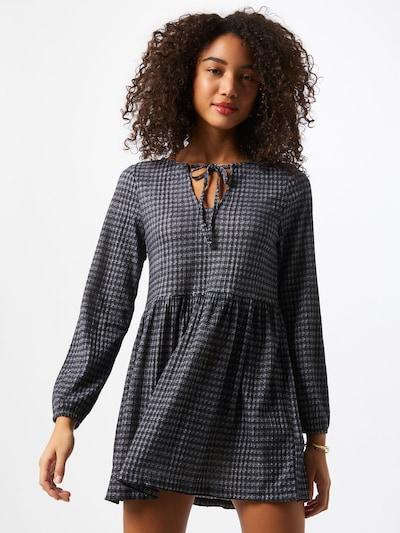 Cotton On Kleid 'Larissa' in grau / schwarz / weiß, Modelansicht