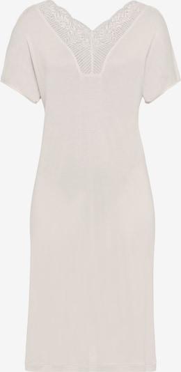 Hanro Kurzarm Nachthemd ' Irini (100cm) ' in offwhite, Produktansicht
