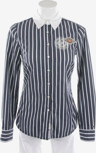TOMMY HILFIGER Bluse in S in blau / weiß, Produktansicht