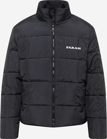 FARAH Between-Season Jacket in Black