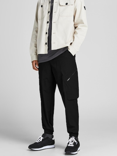 JACK & JONES Карго панталон в черно, Преглед на модела
