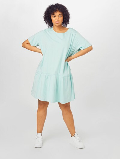 Rochie 'Valance' Urban Classics Curvy pe albastru deschis, Vizualizare model