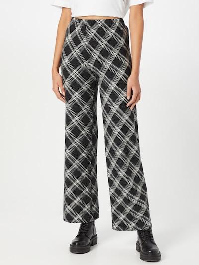 Résumé Hose in schwarz / weiß, Modelansicht