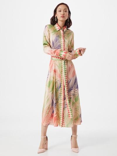 DELICATELOVE Kleid 'Mina' in mischfarben / rosa, Modelansicht