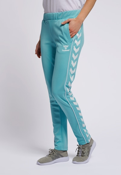 Hummel Pants in hellblau, Modelansicht