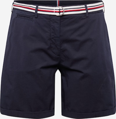 Tommy Hilfiger Curve Chino in de kleur Donkerblauw / Rood / Wit, Productweergave