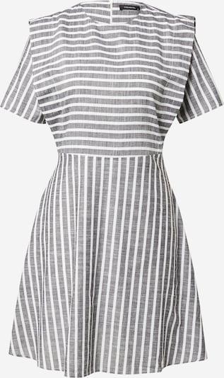 Trendyol Φόρεμα σε γραφίτης / λευκό, Άποψη προϊόντος