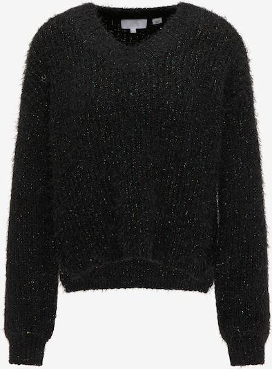 usha WHITE LABEL Strickpullover in schwarz, Produktansicht