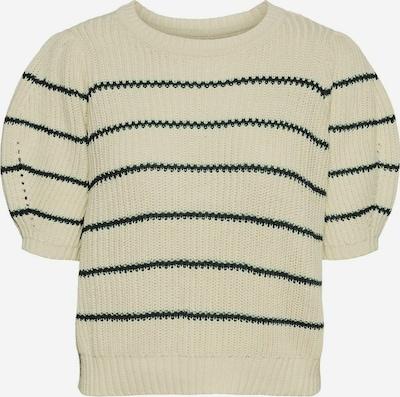 VERO MODA Pullover in beige / schwarz, Produktansicht