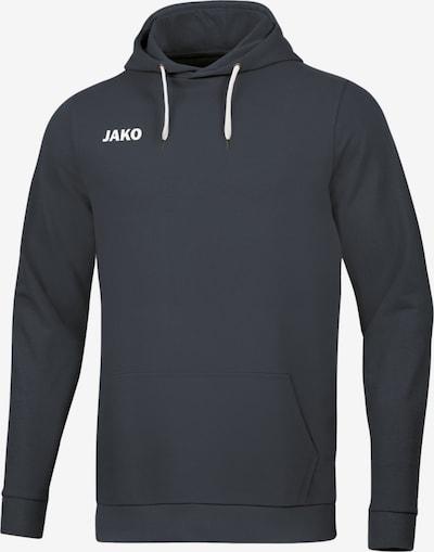 JAKO Sportsweatshirt in dunkelgrau / weiß, Produktansicht