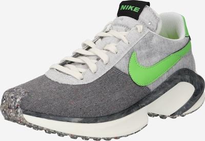 Nike Sportswear Baskets basses en gris / gris foncé / vert fluo, Vue avec produit
