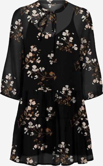 VERO MODA Kleid 'Wonda' in beige / braun / schwarz / weiß, Produktansicht