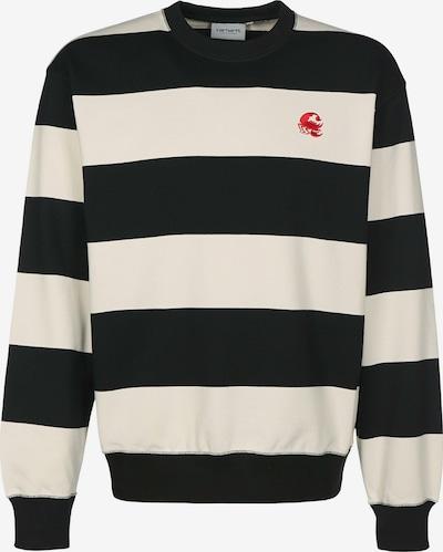 Carhartt WIP Sweatshirt 'Alvin' in schwarz / weiß, Produktansicht