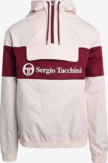 Sergio Tacchini Windbreaker 'LANGDON' in weiß, Produktansicht