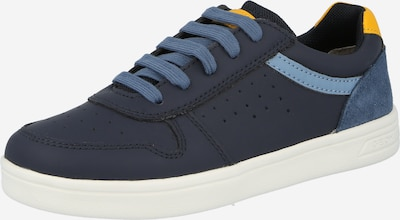 GEOX Trainers in Navy / Smoke blue / Yellow, Item view