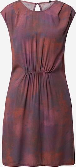 Iriedaily Kleid in mokka / violettblau / orchidee / feuerrot / pastellrot, Produktansicht