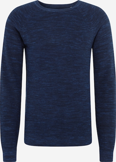 TOM TAILOR Pullover in navy / hellblau, Produktansicht