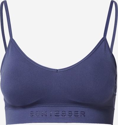 SCHIESSER Bustier 'Seamless Light' in taubenblau, Produktansicht