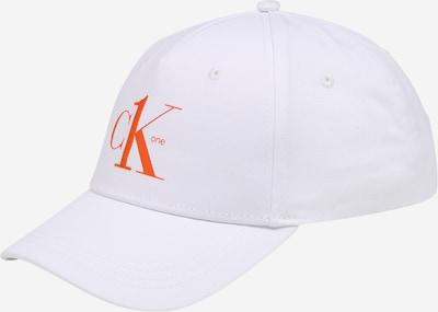 Calvin Klein Hætte i orange / hvid, Produktvisning