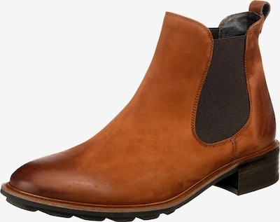 Paul Green Chelsea boots in de kleur Cognac, Productweergave