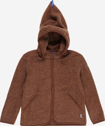 Jachetă  fleece 'LUONTO' de la FINKID pe maro