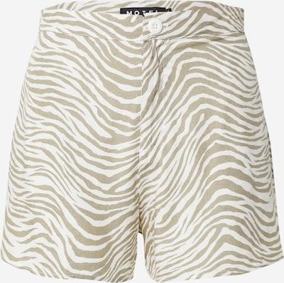 Motel Kalhoty 'lalisa' - velbloudí / bílá, Produkt