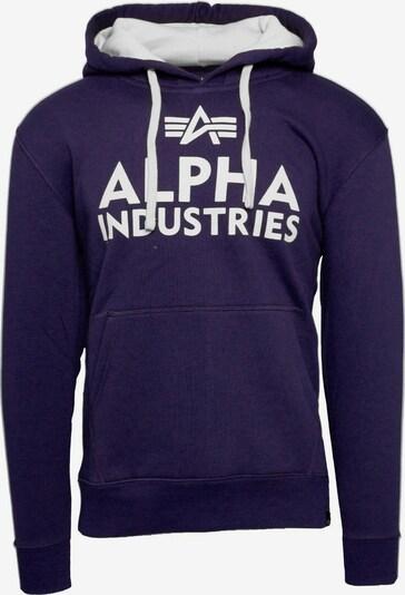ALPHA INDUSTRIES Pullover 'Foam Print' in lila, Produktansicht