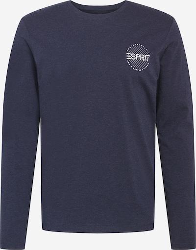 kék melír / fehér ESPRIT Póló, Termék nézet